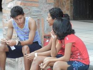 Carlos with Marilu and Bella